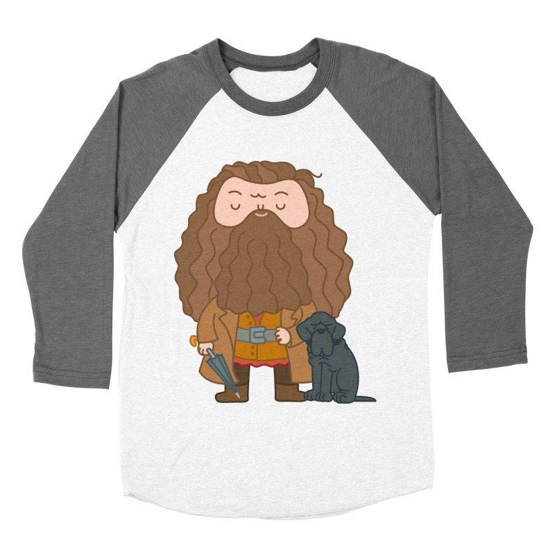Hagrid Men's Baseball Triblend Longsleeve T-Shirt by Pepe Rodríguez