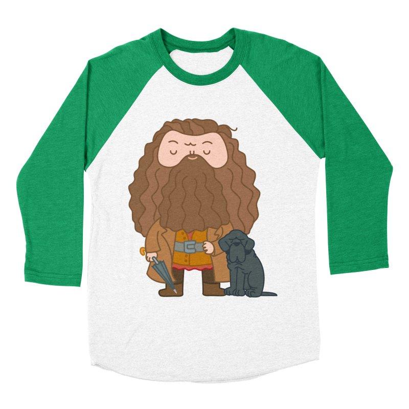 Hagrid Men's Baseball Triblend T-Shirt by Pepe Rodríguez