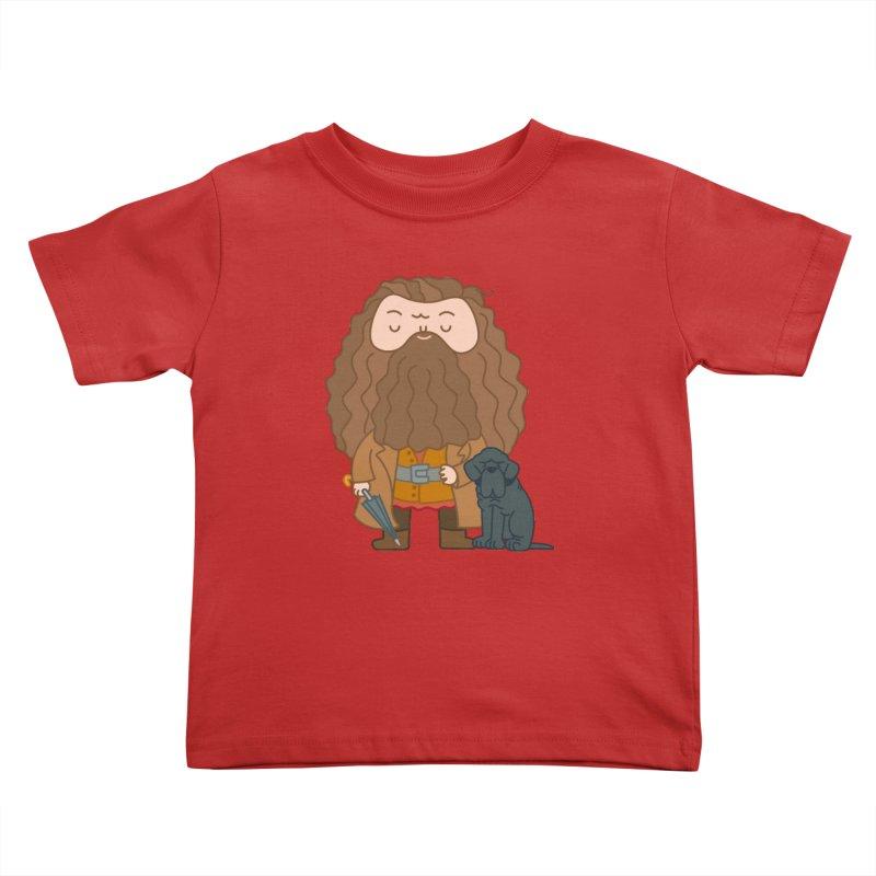 Hagrid Kids Toddler T-Shirt by Pepe Rodríguez