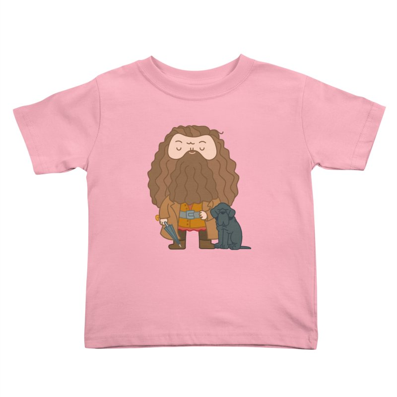 Hagrid Kids Toddler T-Shirt by Pepe Rodríguez