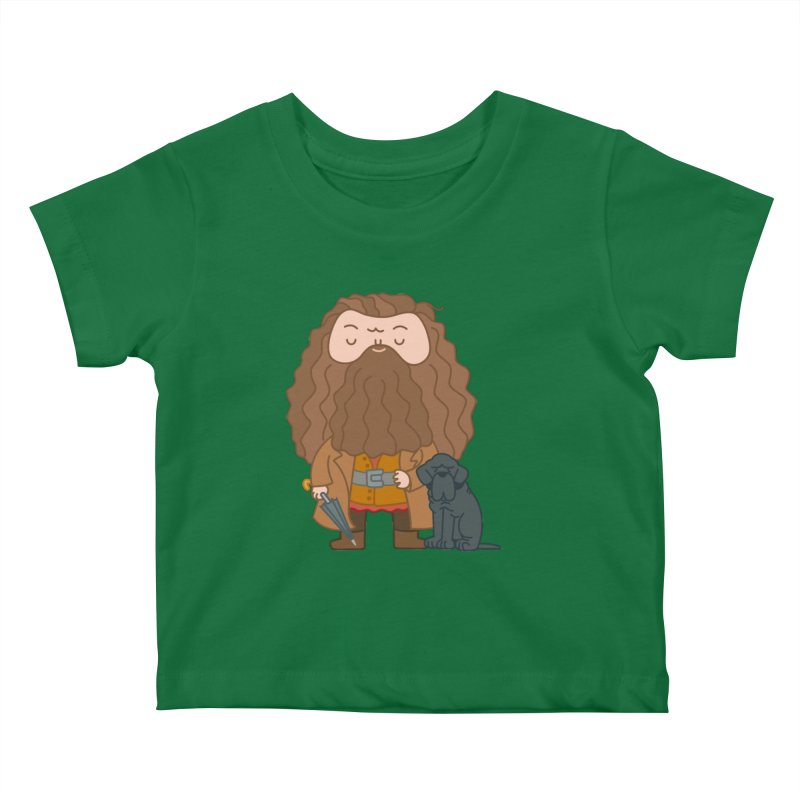 Hagrid Kids Baby T-Shirt by Pepe Rodríguez