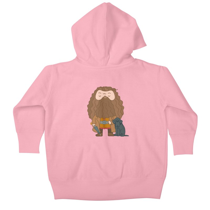 Hagrid Kids Baby Zip-Up Hoody by Pepe Rodríguez