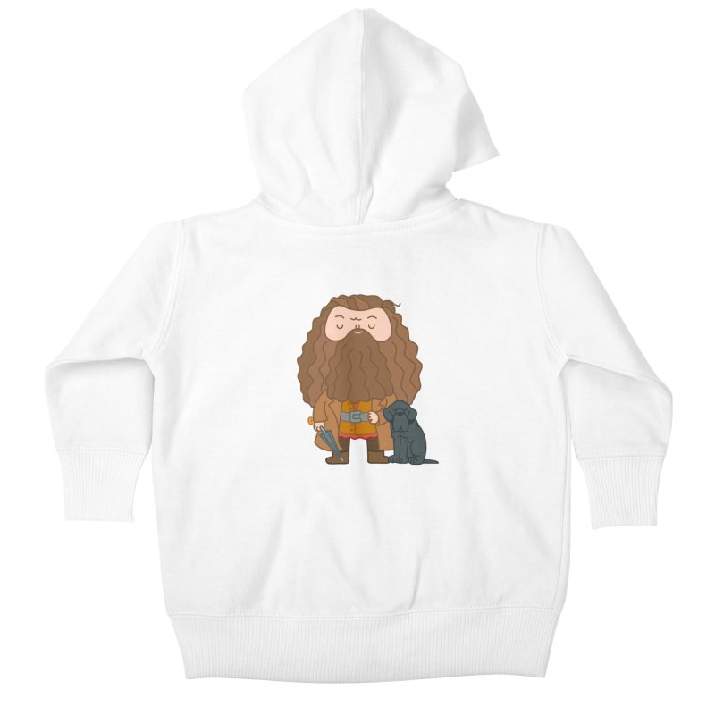 Hagrid Kids Baby Zip-Up Hoody by Pepe Rodríguez