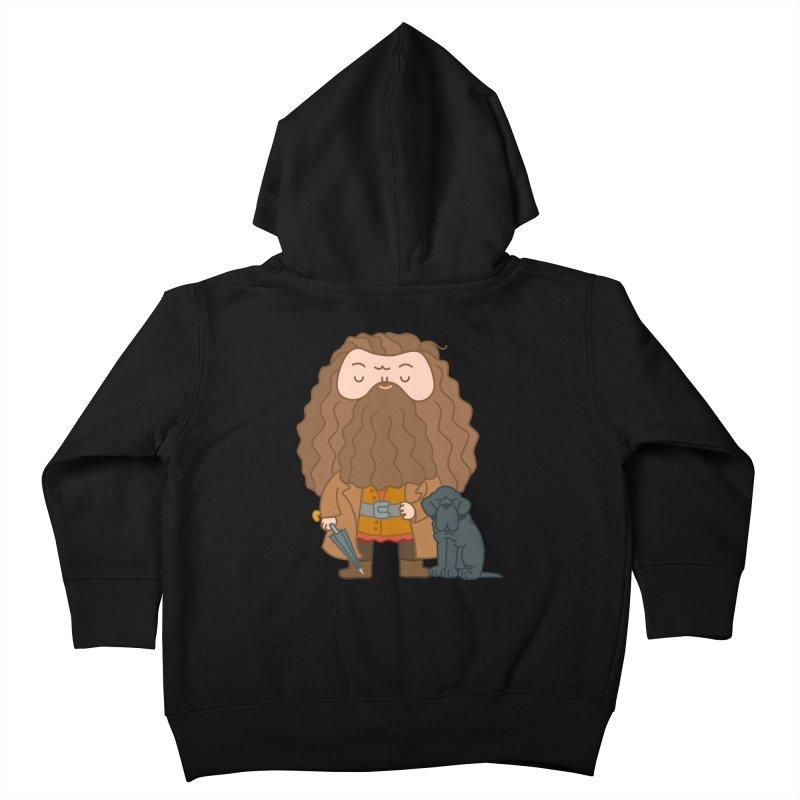 Hagrid Kids Toddler Zip-Up Hoody by Pepe Rodríguez