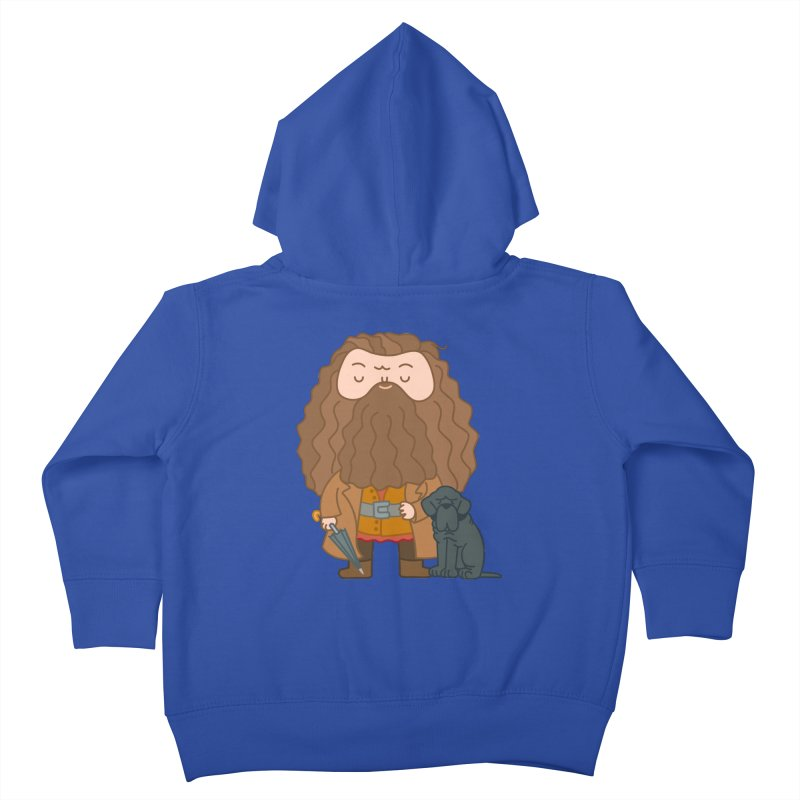 Hagrid Kids Toddler Zip-Up Hoody by Pepe Rodríguez