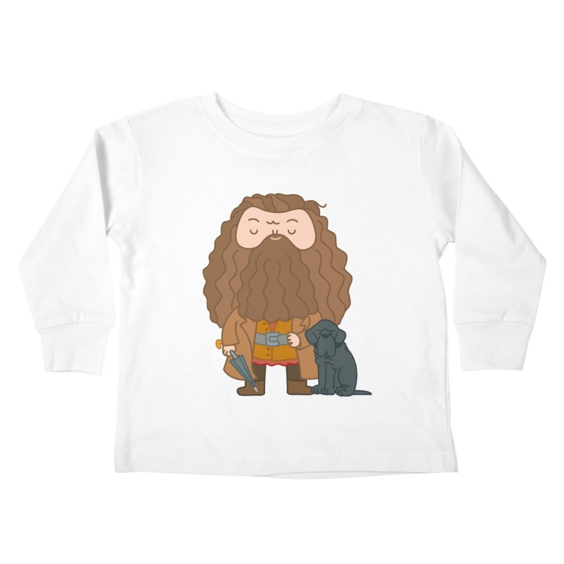 Hagrid Kids Toddler Longsleeve T-Shirt by Pepe Rodríguez