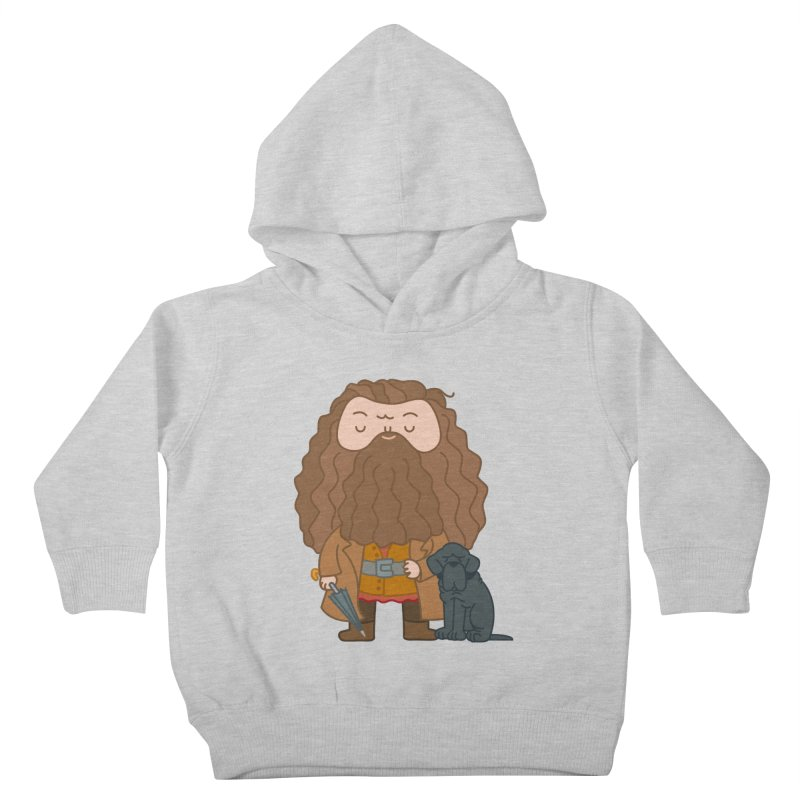 Hagrid Kids Toddler Pullover Hoody by Pepe Rodríguez