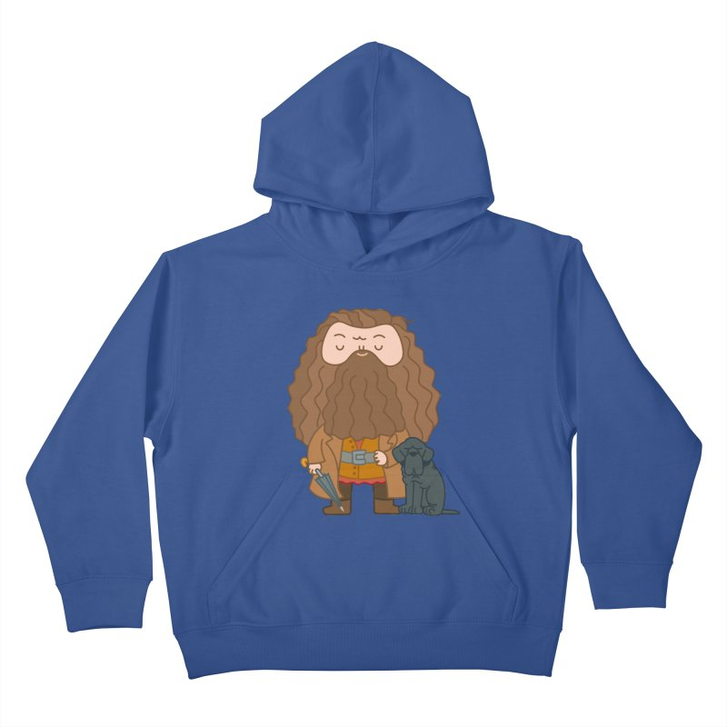 Hagrid Kids Pullover Hoody by Pepe Rodríguez