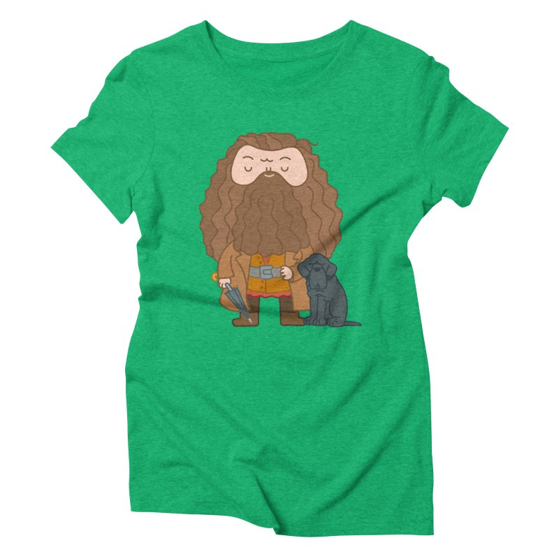 Hagrid Women's Triblend T-Shirt by Pepe Rodríguez