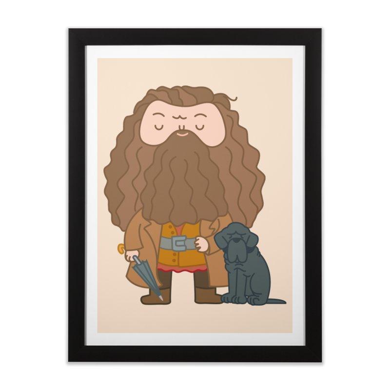 Hagrid Home Framed Fine Art Print by Pepe Rodríguez