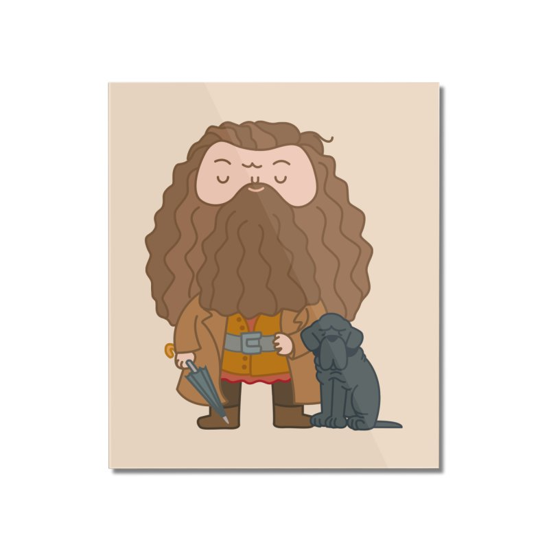 Hagrid Home Mounted Acrylic Print by Pepe Rodríguez