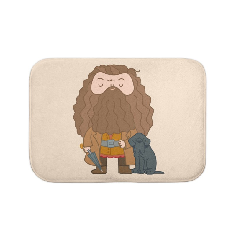 Hagrid Home Bath Mat by Pepe Rodríguez