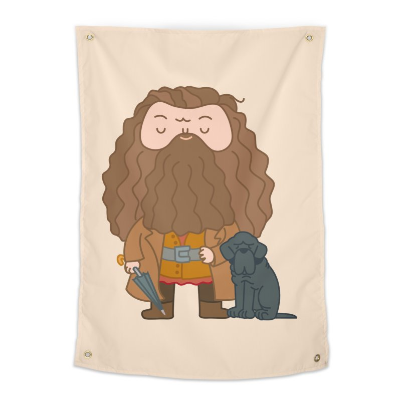 Hagrid Home Tapestry by Pepe Rodríguez