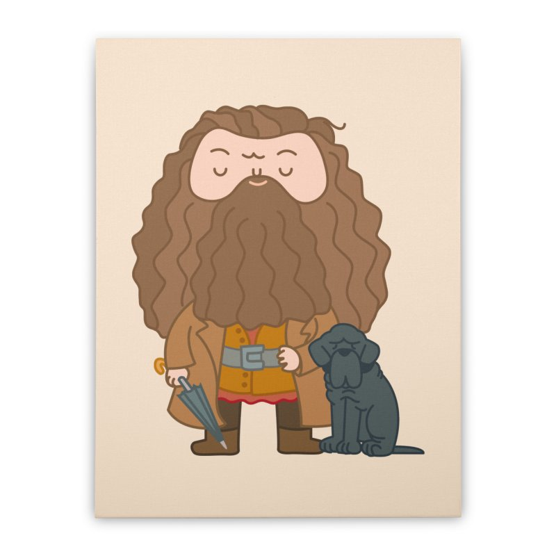 Hagrid Home Stretched Canvas by Pepe Rodríguez