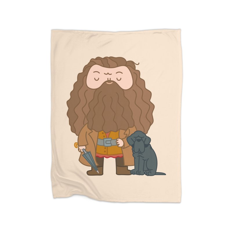 Hagrid Home Blanket by Pepe Rodríguez