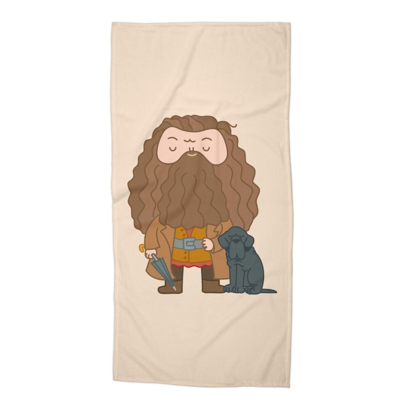 Hagrid Accessories Beach Towel by Pepe Rodríguez