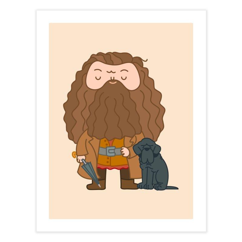 Hagrid Home Fine Art Print by Pepe Rodríguez