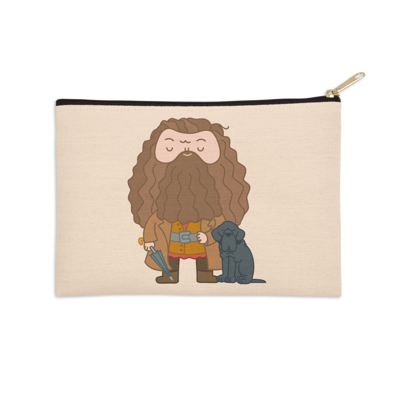 Hagrid Accessories Zip Pouch by Pepe Rodríguez
