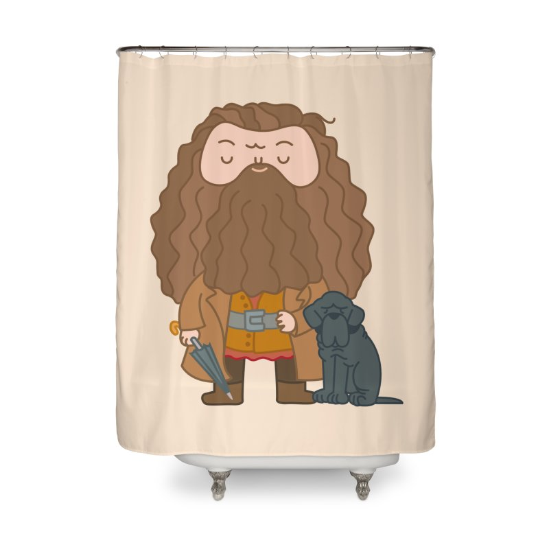Hagrid Home Shower Curtain by Pepe Rodríguez