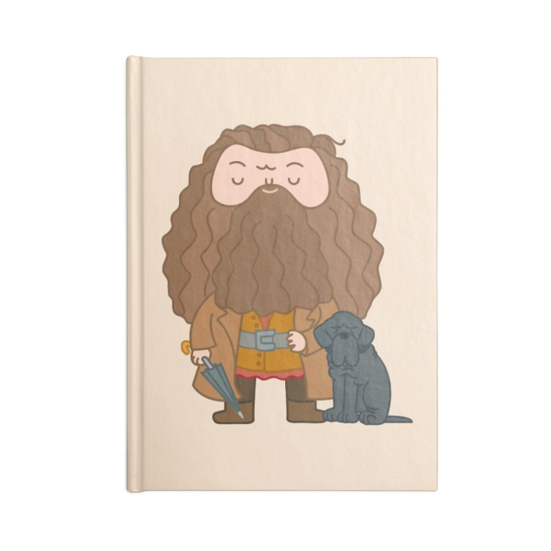 Hagrid Accessories Notebook by Pepe Rodríguez