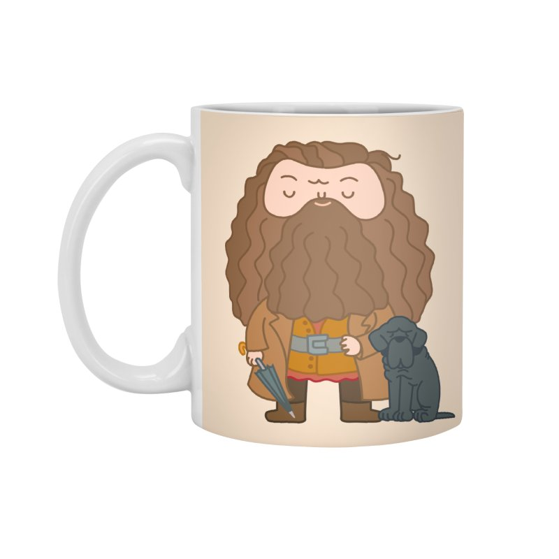 Hagrid Accessories Mug by Pepe Rodríguez