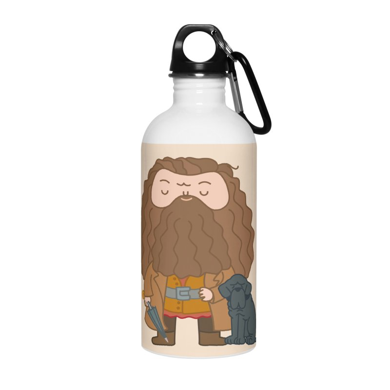 Hagrid Accessories Water Bottle by Pepe Rodríguez