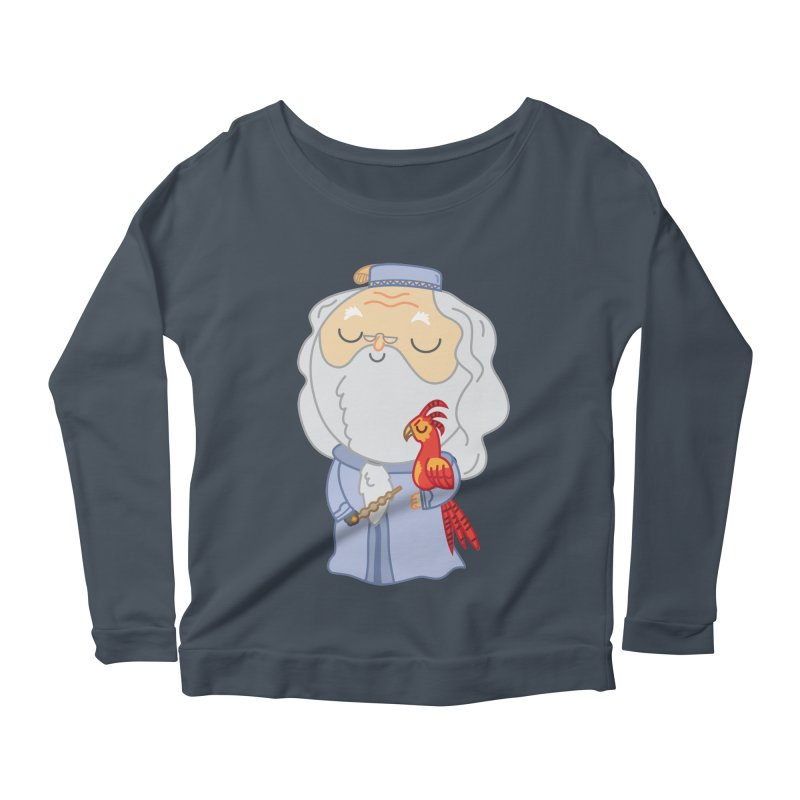 Albus Women's Scoop Neck Longsleeve T-Shirt by Pepe Rodríguez