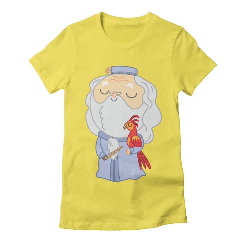 Albus Women's Fitted T-Shirt by Pepe Rodríguez