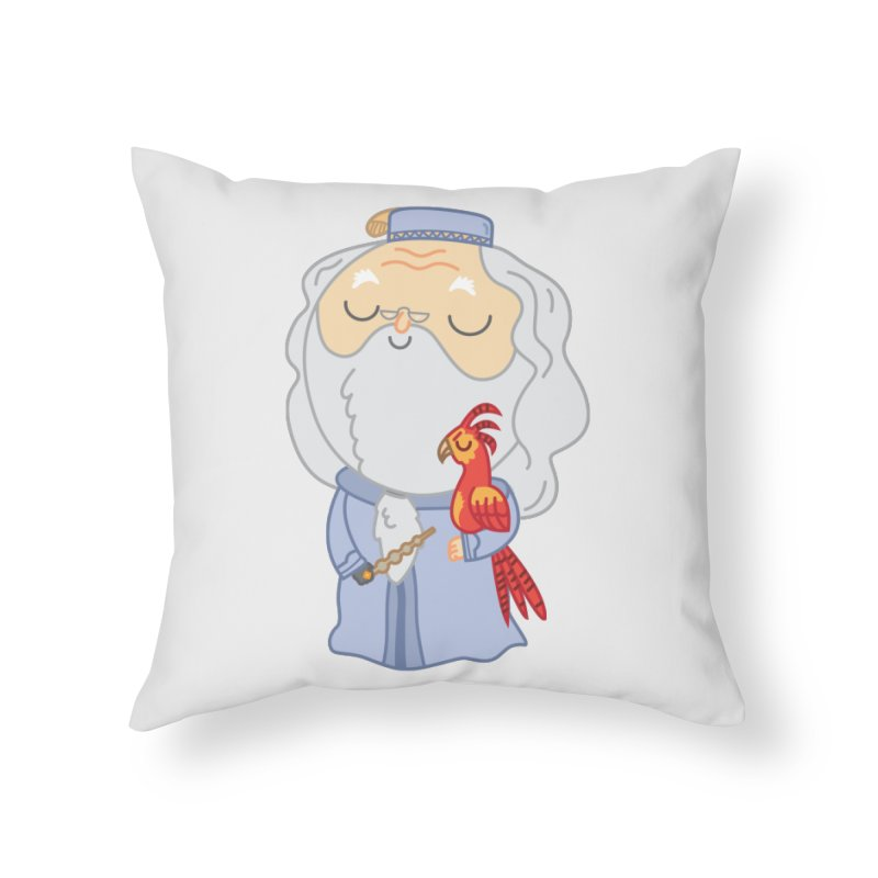 Albus Home Throw Pillow by Pepe Rodríguez