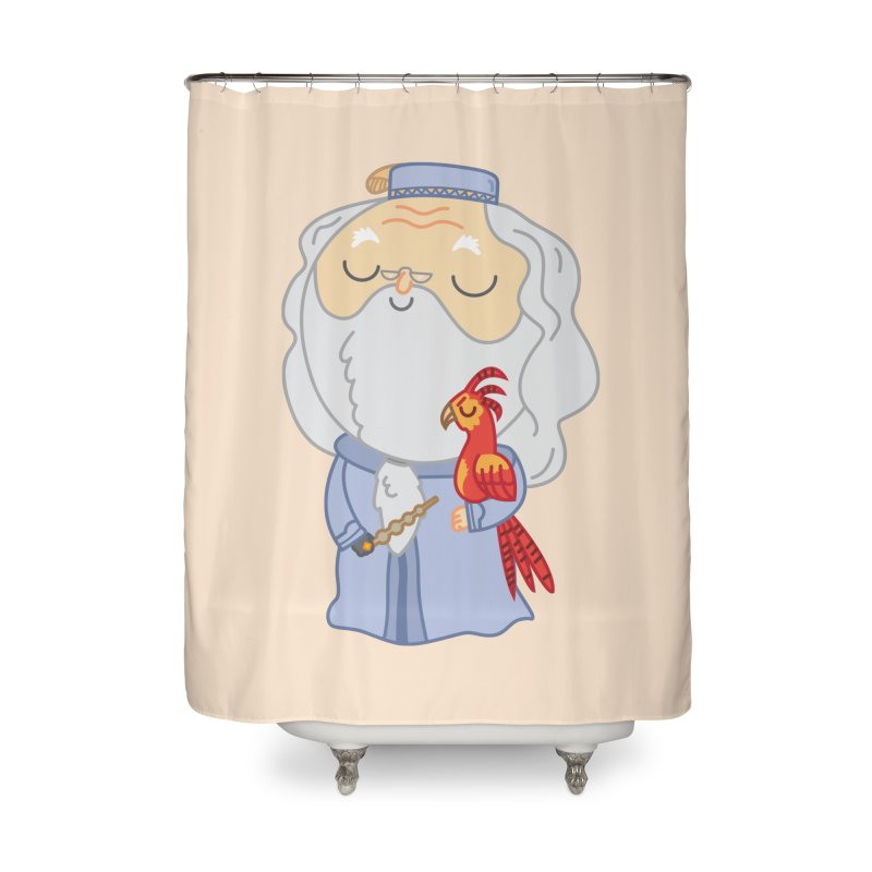 Albus Home Shower Curtain by Pepe Rodríguez