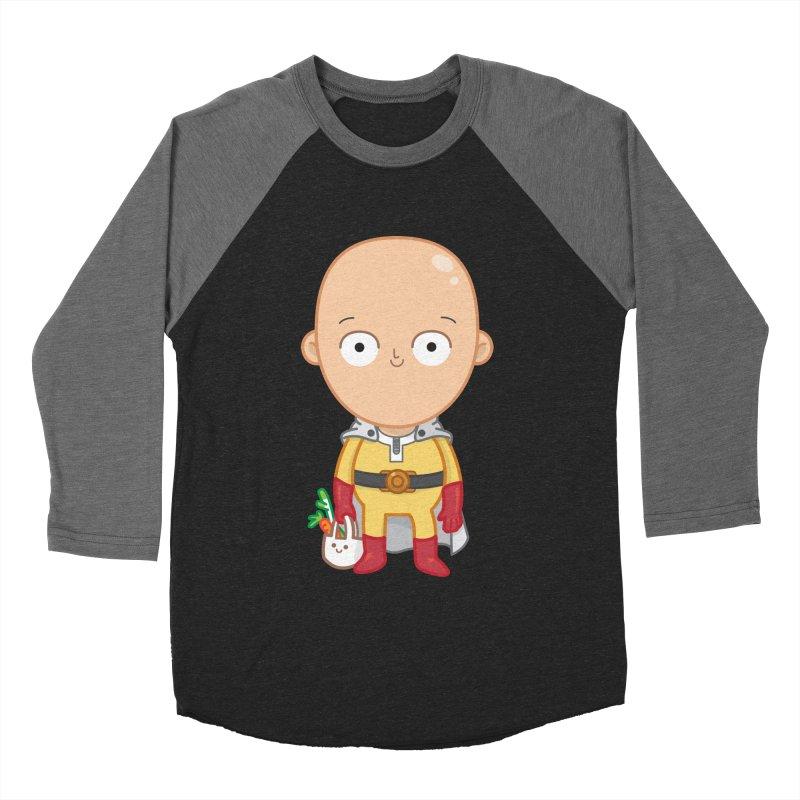 Local Hero Men's Baseball Triblend Longsleeve T-Shirt by Pepe Rodríguez