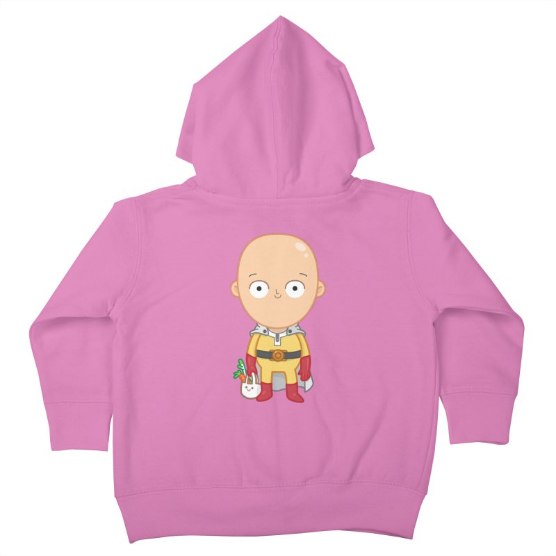 Local Hero Kids Toddler Zip-Up Hoody by Pepe Rodríguez