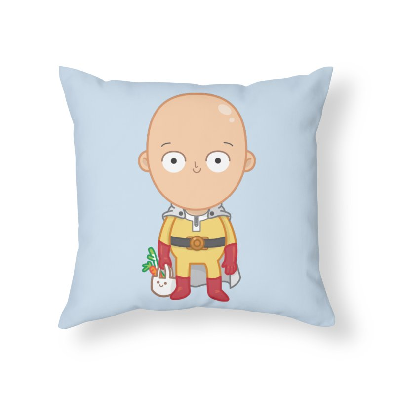 Local Hero in Throw Pillow by Pepe Rodríguez