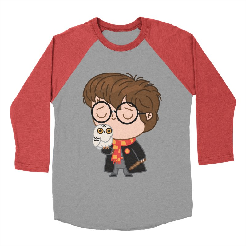 Harry Men's Baseball Triblend Longsleeve T-Shirt by Pepe Rodríguez