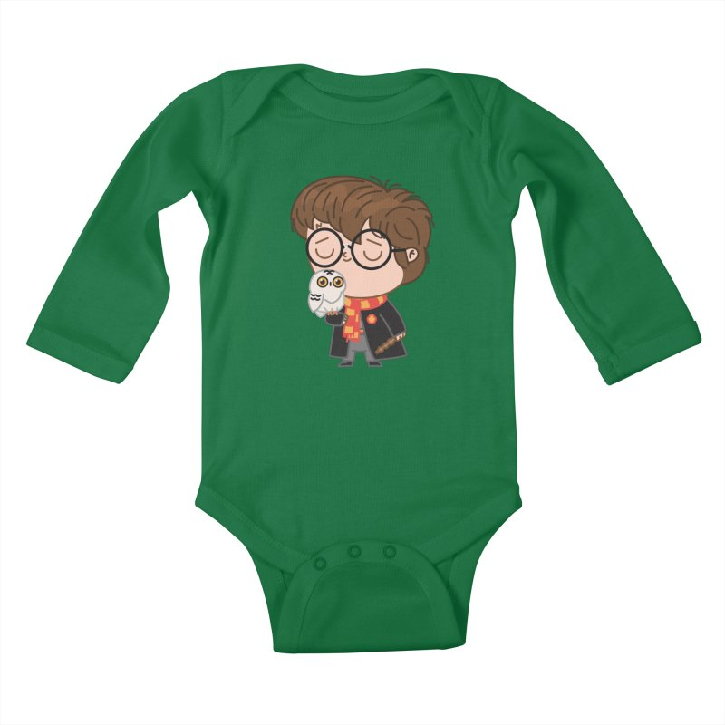 Harry Kids Baby Longsleeve Bodysuit by Pepe Rodríguez