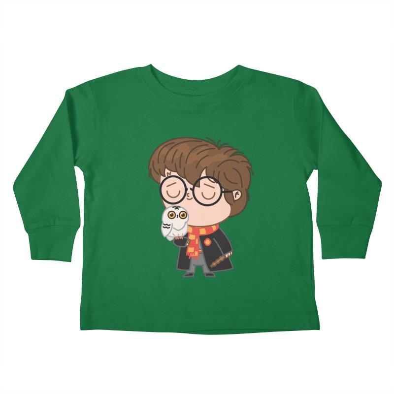 Harry Kids Toddler Longsleeve T-Shirt by Pepe Rodríguez
