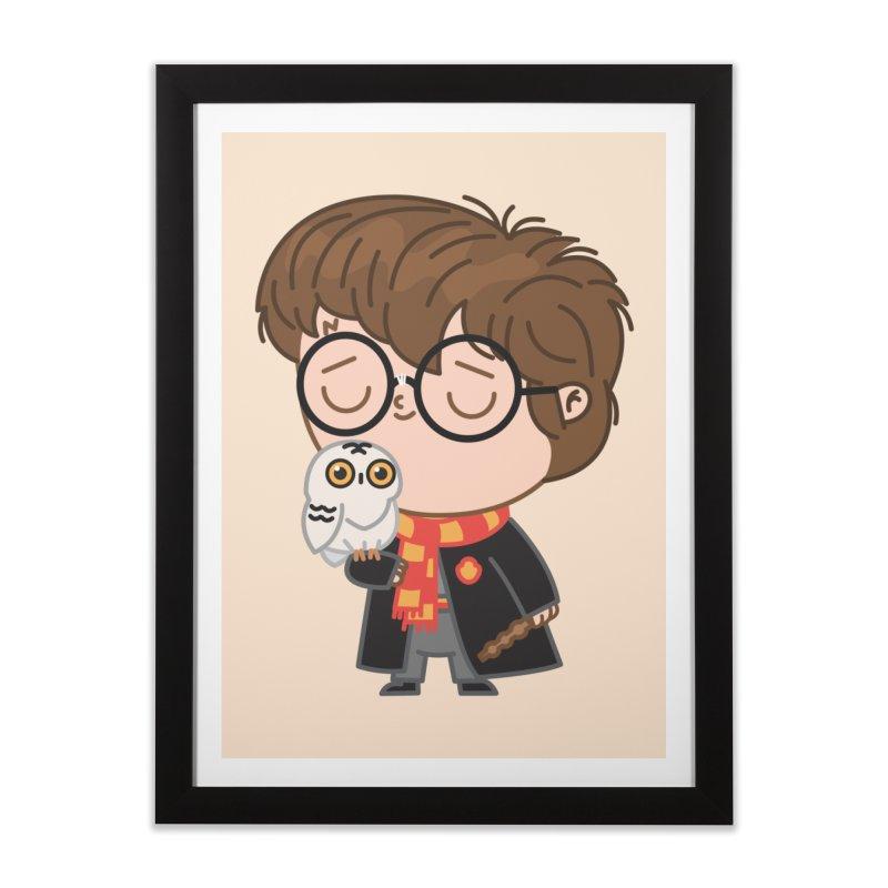 Harry Home Framed Fine Art Print by Pepe Rodríguez
