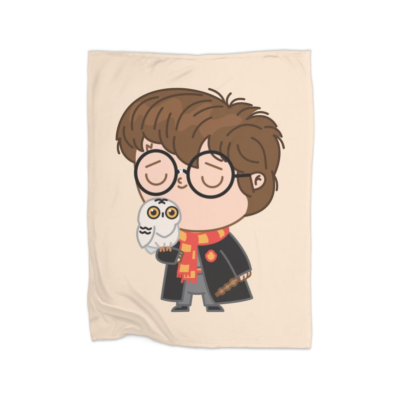 Harry Home Blanket by Pepe Rodríguez