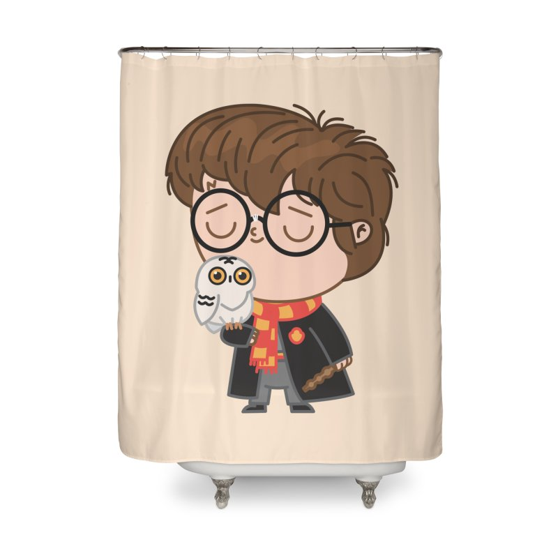 Harry Home Shower Curtain by Pepe Rodríguez