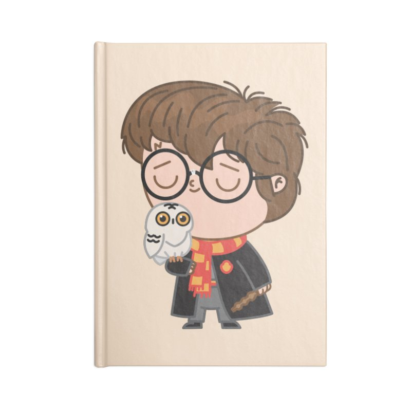 Harry Accessories Notebook by Pepe Rodríguez