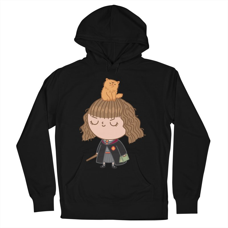 Hermione Women's French Terry Pullover Hoody by Pepe Rodríguez
