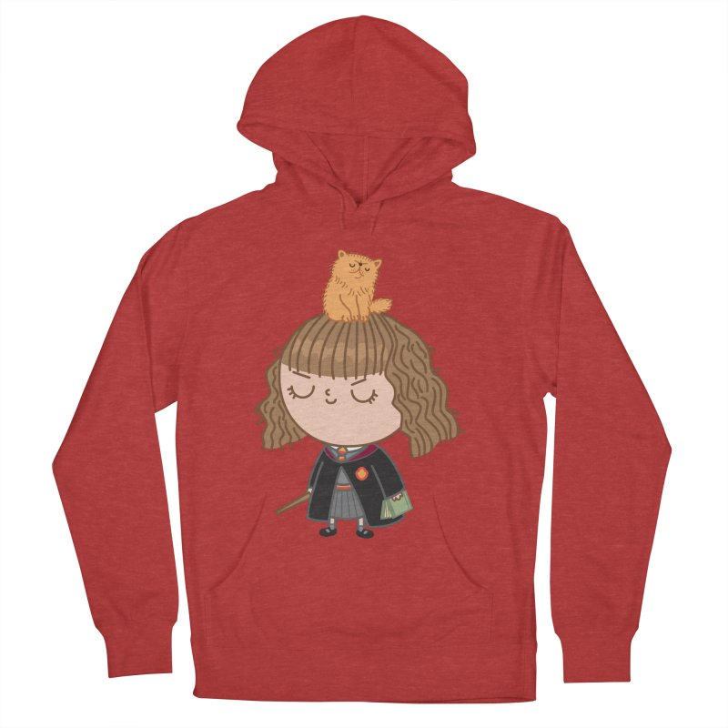 Hermione Men's French Terry Pullover Hoody by Pepe Rodríguez