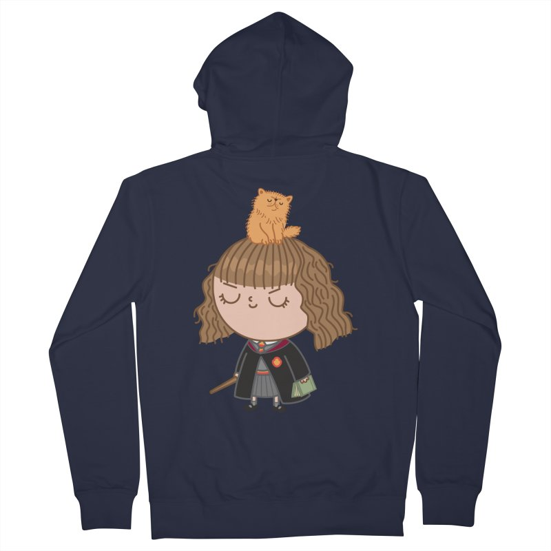 Hermione Women's French Terry Zip-Up Hoody by Pepe Rodríguez