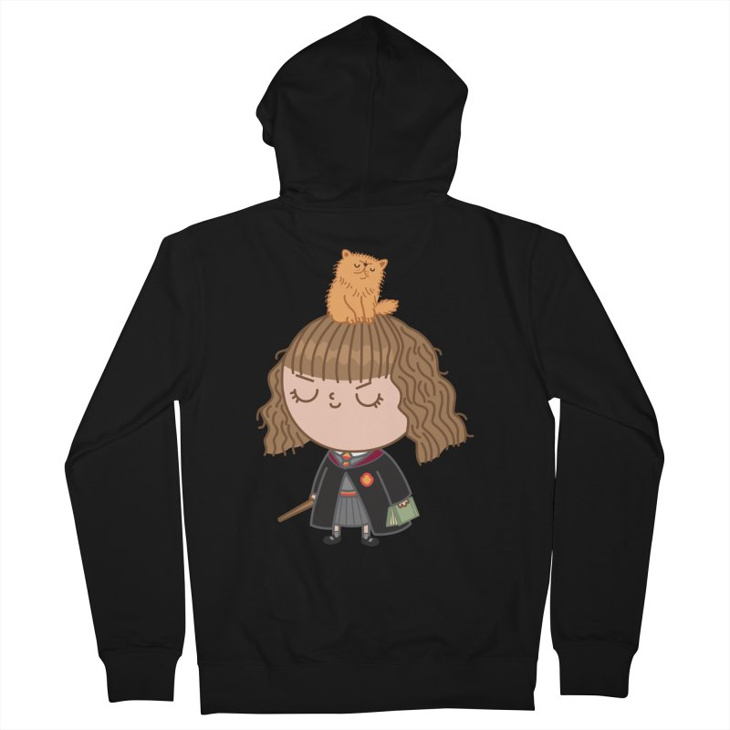 Hermione Men's French Terry Zip-Up Hoody by Pepe Rodríguez