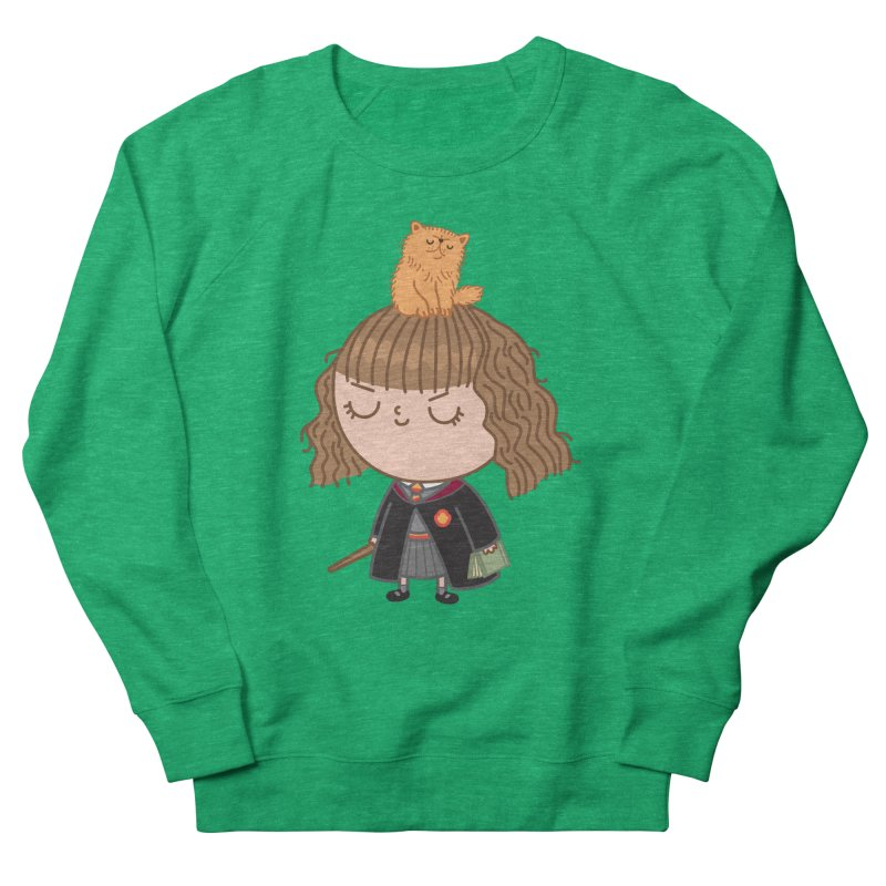 Hermione Women's French Terry Sweatshirt by Pepe Rodríguez