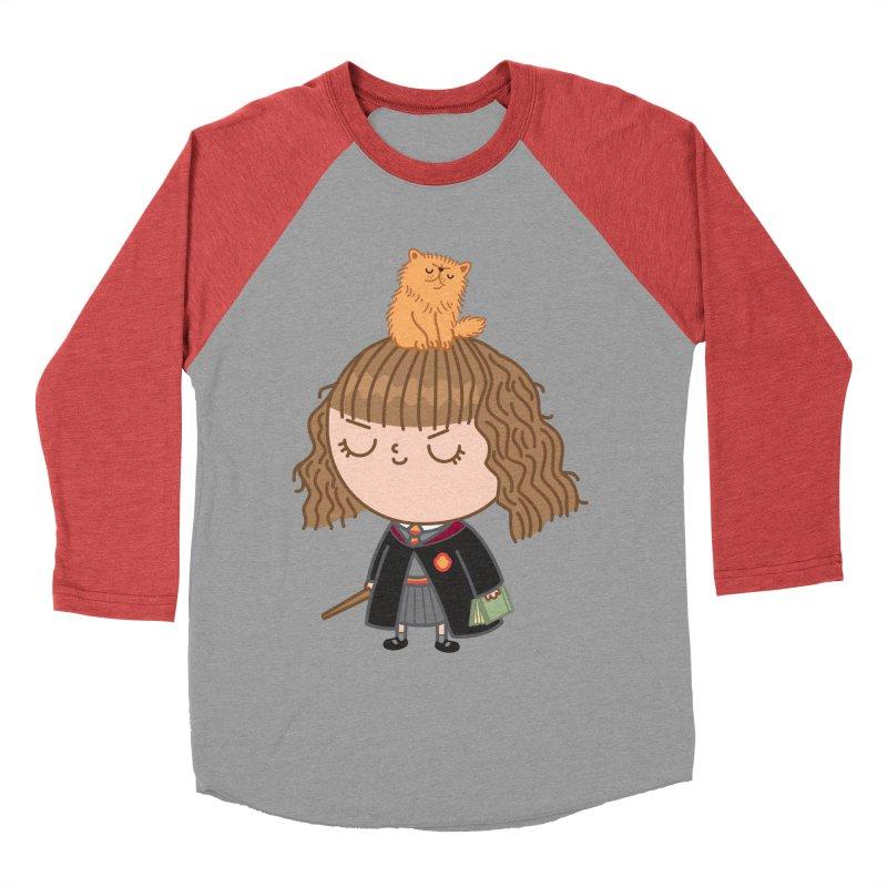 Hermione Men's Baseball Triblend Longsleeve T-Shirt by Pepe Rodríguez