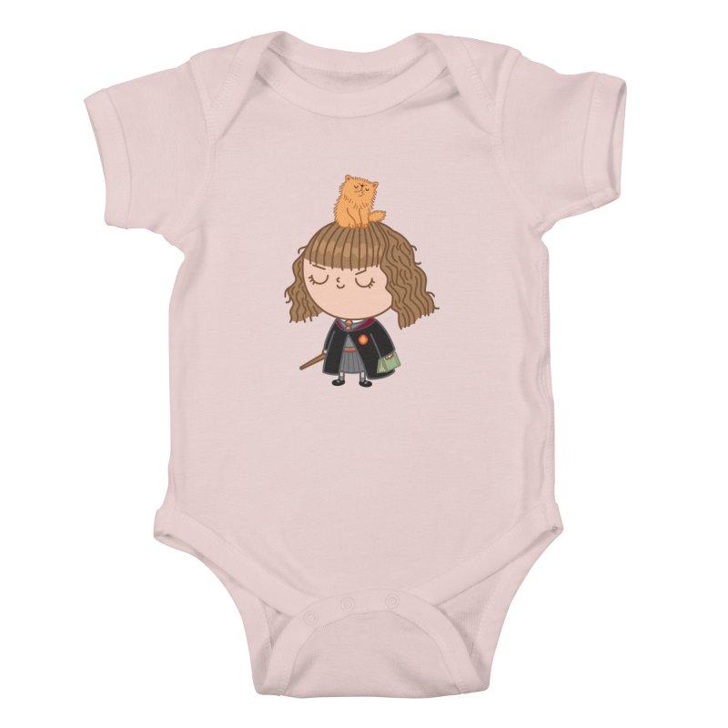Hermione Kids Baby Bodysuit by Pepe Rodríguez