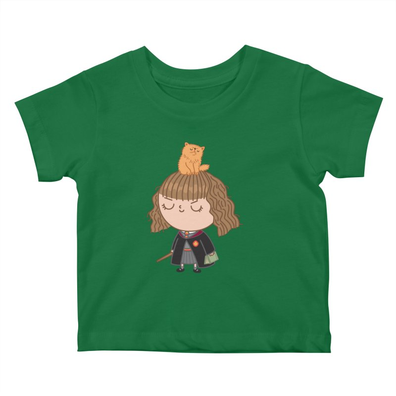 Hermione Kids Baby T-Shirt by Pepe Rodríguez