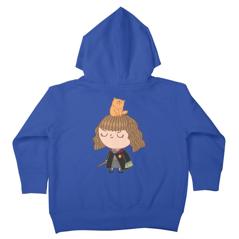 Hermione Kids Toddler Zip-Up Hoody by Pepe Rodríguez