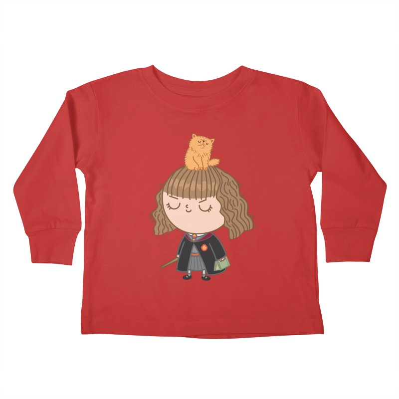 Hermione Kids Toddler Longsleeve T-Shirt by Pepe Rodríguez